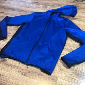 Nike Blue & Black Full Length Zip Jacket